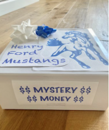 Mrs. Covacha's Class Mystery Money Basket