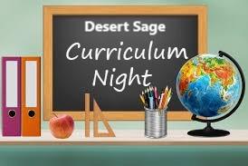 Virtual Curriculum Night Sign-Up