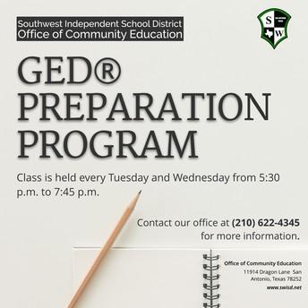 GED® Preparation Class
