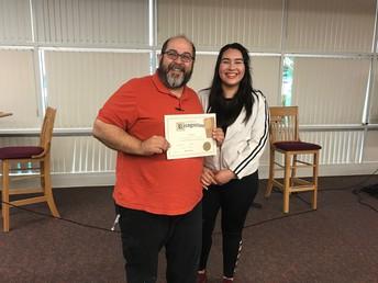 AVID Teacher Award