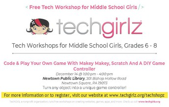 Techgirlz Workshops