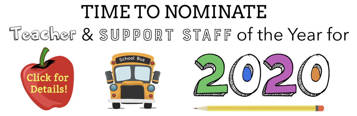Teacher and Support Staff of the Year Nomination