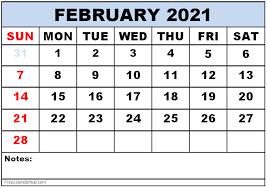 February 2021