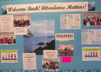 Attendance Matters Bulletin Board
