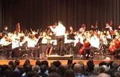 QHMS Students in CMS Honors Orchestra