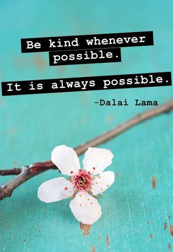 Kindness is a powerful tool. Let's use it!