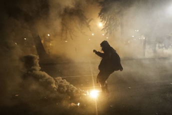 4. MCH Student Asha Hassan Featured in Associated Press Article on Tear Gas Use
