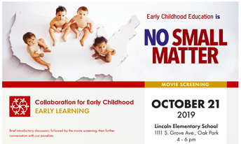 """Community Screening & Discussion of """"No Small Matter"""" -  Monday, October 21st @ Lincoln"""