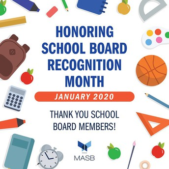 January School Board Recognition Month