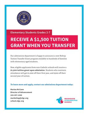 Bishop's Tuition Transfer Grant Program