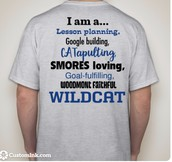 Faculty T-Shirts for Class T-Shirt Day $10.00