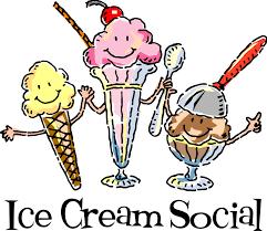 Ice Cream Social - May 4