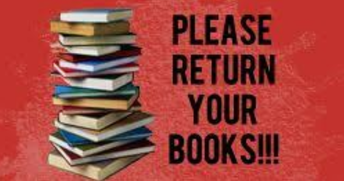 PLEASE GATHER &  RETURN BOOKS: SPECIFIC DATES/TIMES FOR EACH GRADE