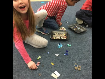Exploring sorting and identifying the rule!