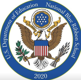 We have been designated as an Exemplary High Performing National Blue Ribbon School for 2020 by U.S. Secretary of Education Betsy DeVos!