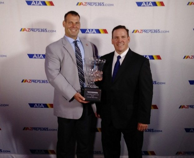 AIA Directors Cup Winners - Larry Rother and Jim Culver