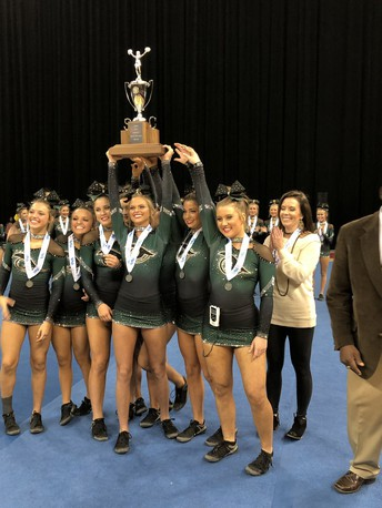 Gators of the Week: Varsity Cheer Wins Silver Medal
