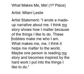 Milani - What Makes Me, Me!