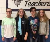 7th Grade Spelling Bee Champions