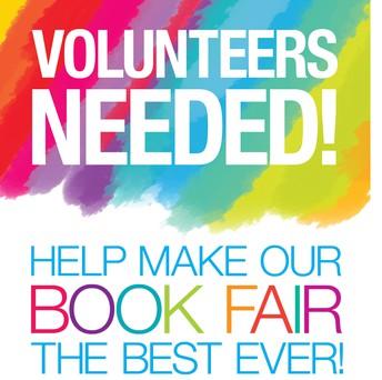 Book Fair Volunteers Needed!