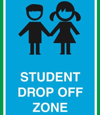 Drop off Procedures for Dierzen Families