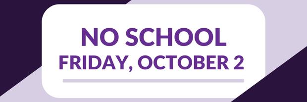 no school friday, october 2