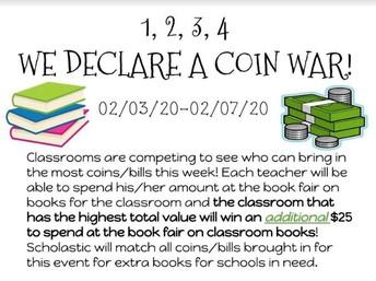 Coin War - English