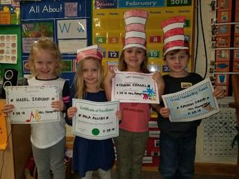 More Preschool Awards for Jan/Feb