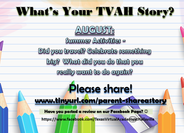 TVAH HS Monday Morning Memo | Smore Newsletters for Education