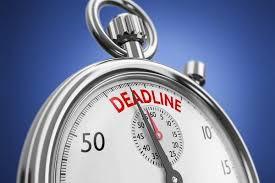 Major Saver Deadline