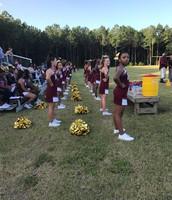 Cheerleaders at Dixon