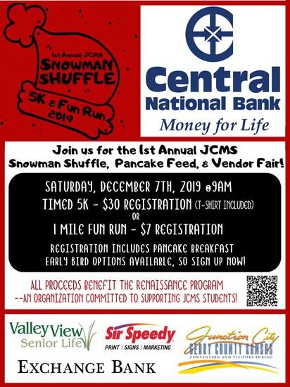 Snowman Shuffle Flyer