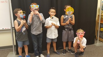 Photo Booth fun at the Mother/Son Night of Fun