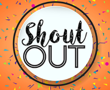 Let's Celebrate with a Student Shout Out!