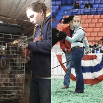 Wetzel & Gehrke Qualify for Future Farmers of America State Convention