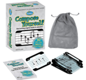 THINKFUN COMPOSE YOURSELF MUSIC CARD GAME