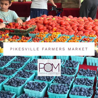 Pikesville Farmers Market Opens Tuesday, May 5, 2020 2PM
