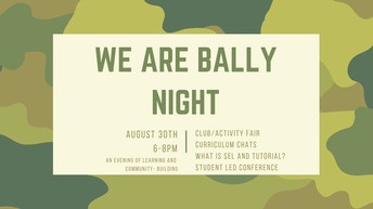 We Are Bally Night