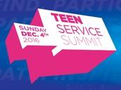 TEEN VOLUNTEER SERVICE SUMMIT
