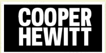 Virtual Design Field Trips with Cooper Hewitt