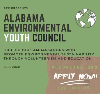 Alabama Environmental Youth Council