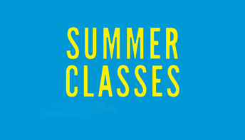 Skills Classes being offered this summer - Can you help?
