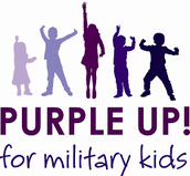 Purple Up Day - Month of the Military Child