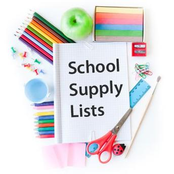 2019-2020 Classroom Supply Lists