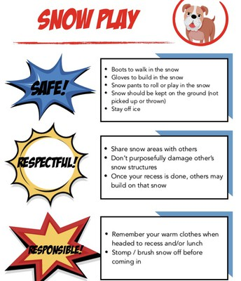 Snow Play Expectations