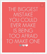 The Value of Mistakes