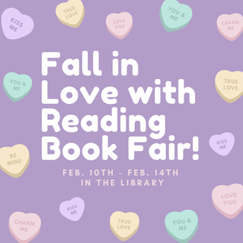 Fall in Love with Reading Book Fair!