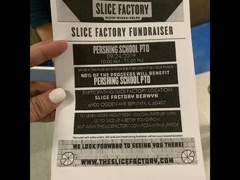 Tues. Support our PTO and order from Slice Factory
