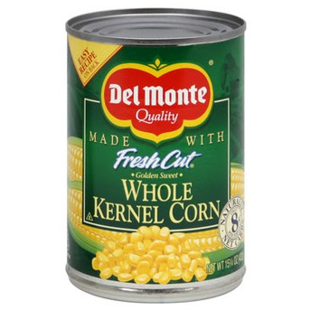 Canned Corn Food Drive