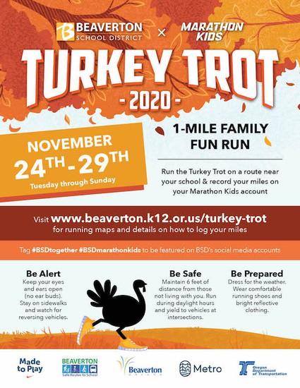 Turkey Trot Flyer